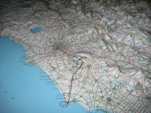 Mapa Nemi