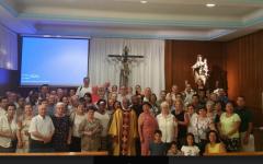 Todos en su primera misa