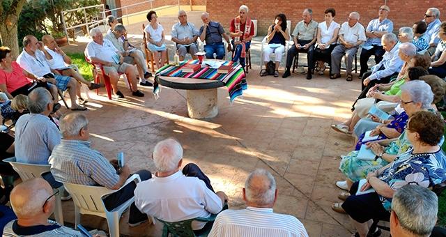 Encuentro de familiares SVD en Dueñas