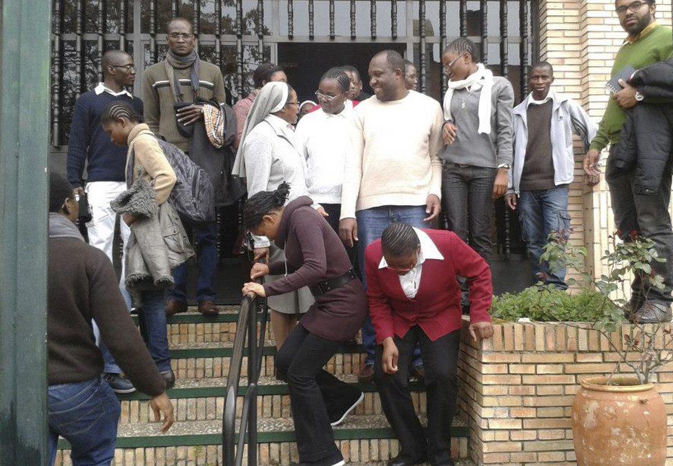 Encuentro entre los estudiantes religiosos africanos