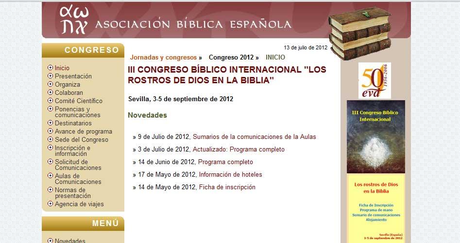 La EVD implicada al 100% en este Congreso Bíblico
