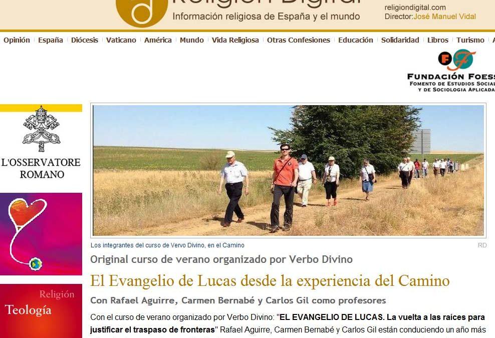 Dueñas, Verano, Biblia, Rafael Aguirre…