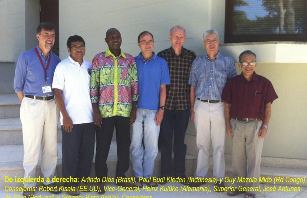 El Nuevo equipo de la Administración General de la Congregación