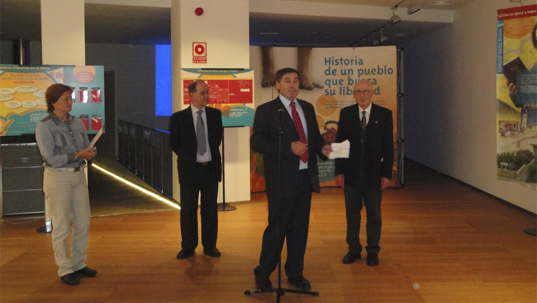La Exposición bíblica en Palencia: La historia de un pueblo que busca su libertad