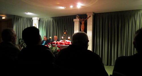 José Eguizábal nos dirige los Ejercicios Espirituales 2012
