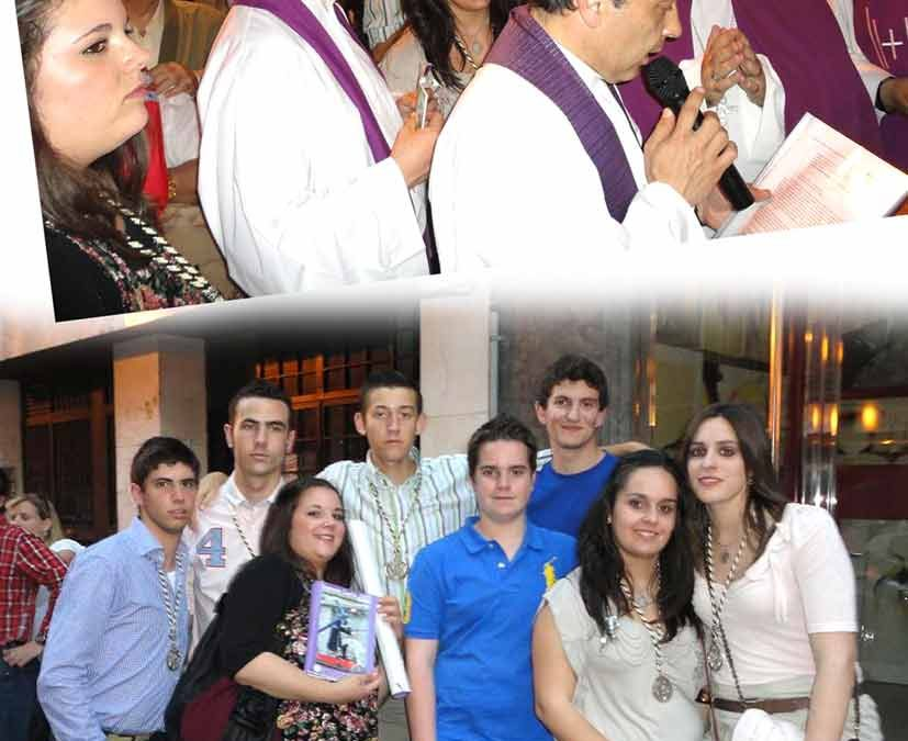 Nuestros jóvenes, con los de la Jornada Mundial de la Juventud