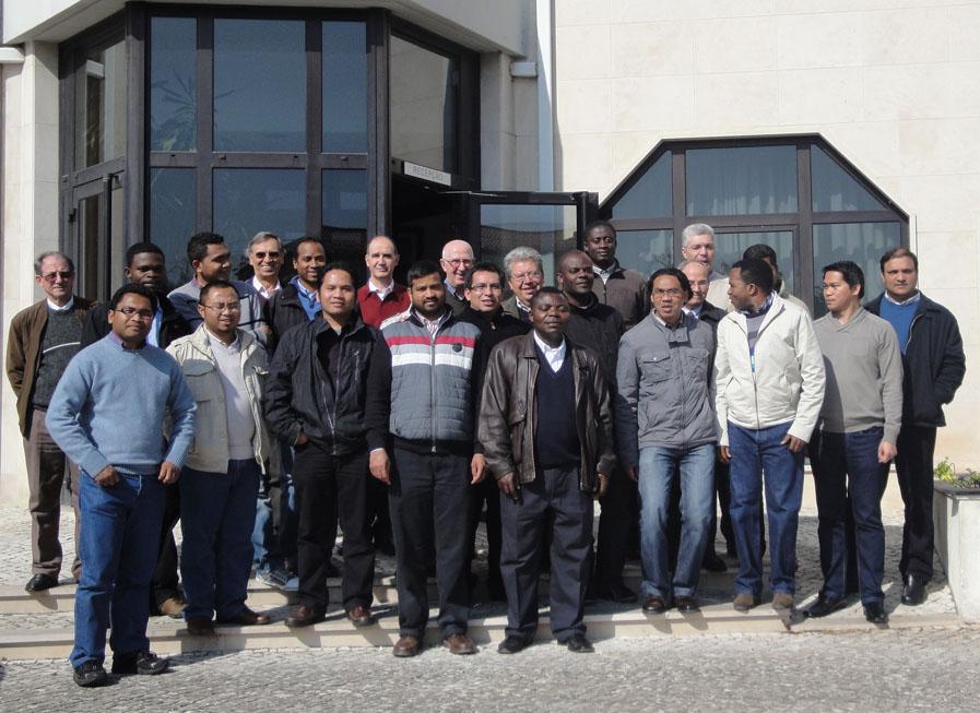 Encuentro de Misioneros SVD no Europeos de la Península Ibérica