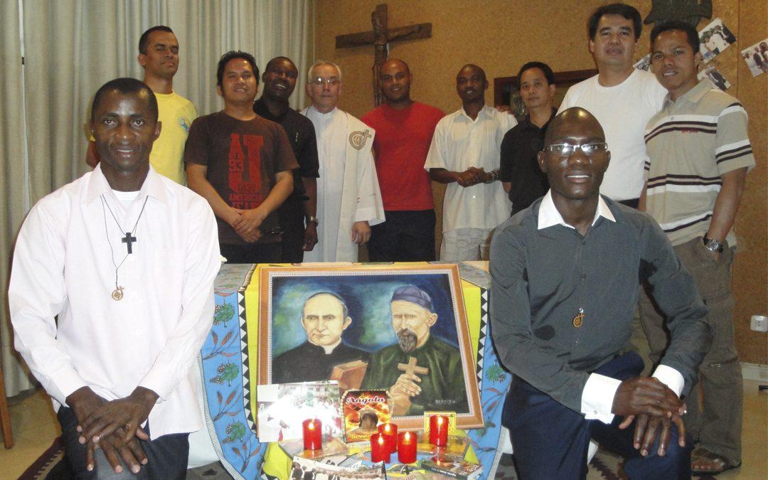 Renovación de votos religiosos de Kiangala y Vicente