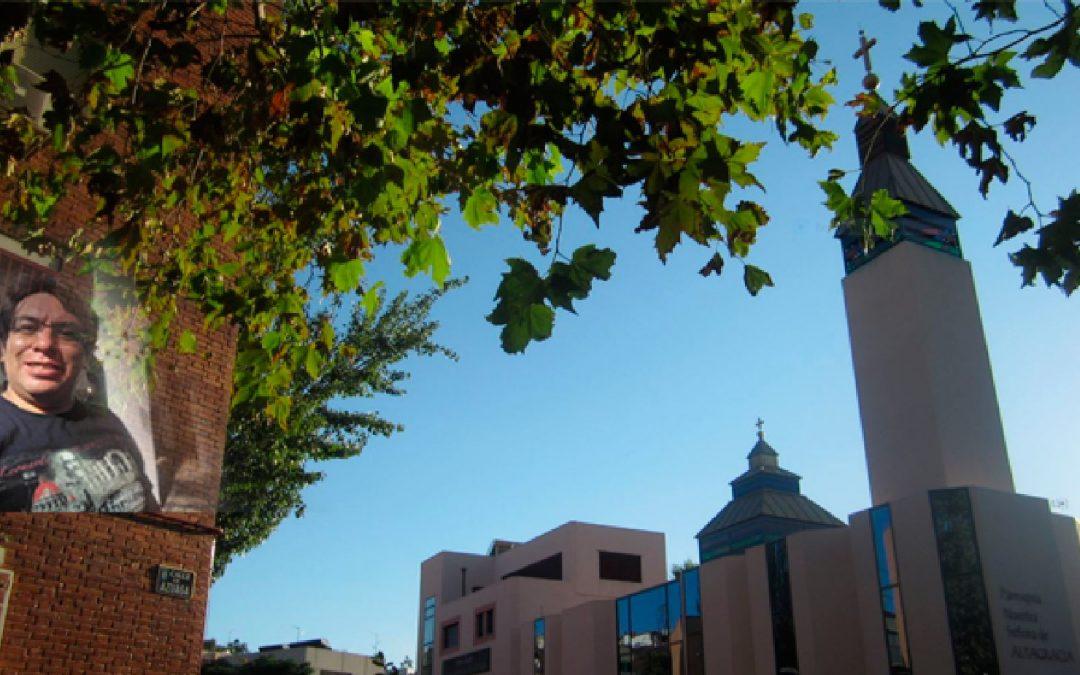 El P. Chava es mexicano y tiene su destino misionero en la parroquia Nuestra Señora de Altagracia, en Madrid