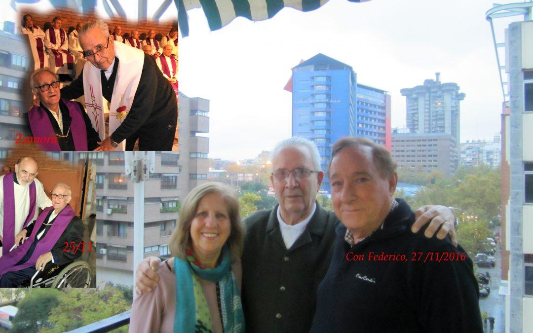 Falleció Justino, sacerdote en Zamora, hermano de José Antonio SVD, primo de Federico SVD