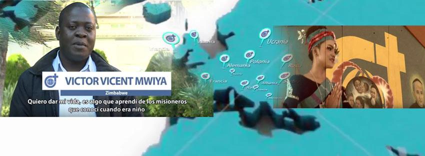 Vocaciones Misioneras en los Cinco Continentes
