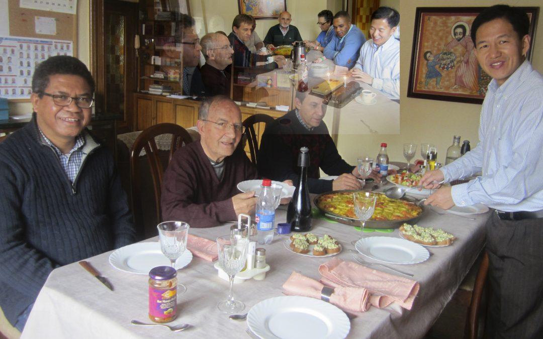 Pablo en familia familia; porque existen otras queridísimas