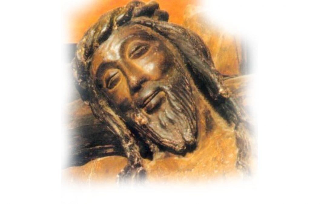 Simón Inza por Navarra hasta Javier, y en su castillo El Cristo que sonríe