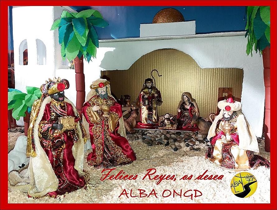 Los Reyes Magos desde ALBA ONGD