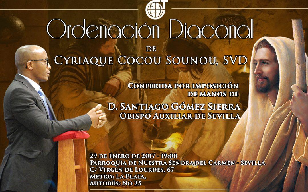 Cyriaco invita, nuestra SVD invita, la Parroquia de El Carmen invita