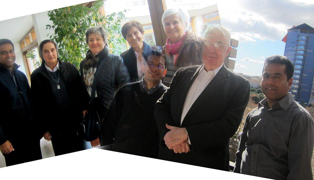 Esta tarde en Madrid, vísperas de Solemnidad (Arnoldo Janssen)
