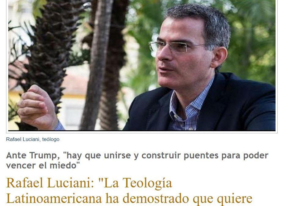 Rafael Luciani es un laico venezolano, pero qué laico…