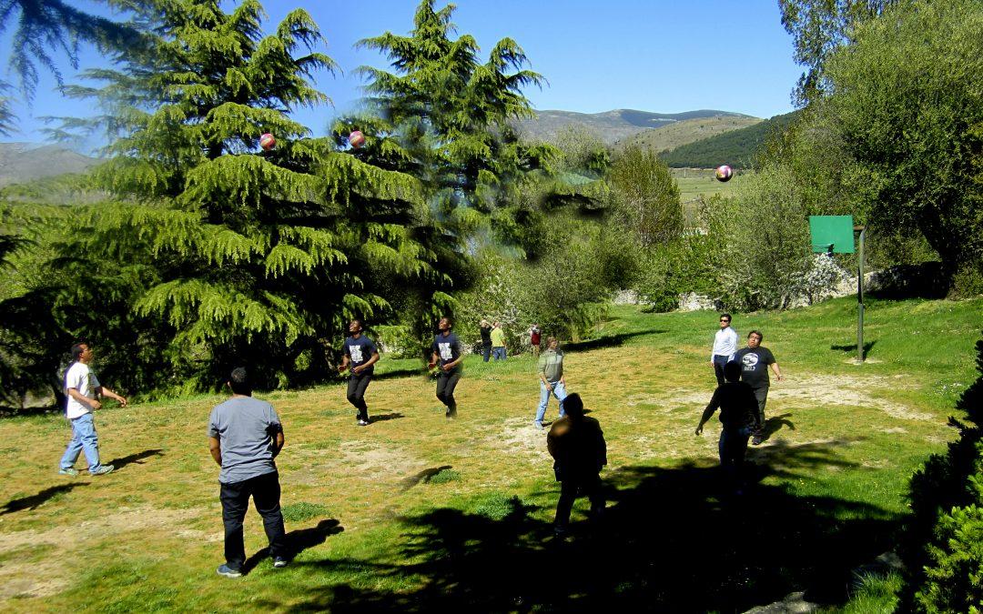 El Espinar SVD en Segovia, una Pascua en todos los sentidos, destacando el visual y el texto de Chava