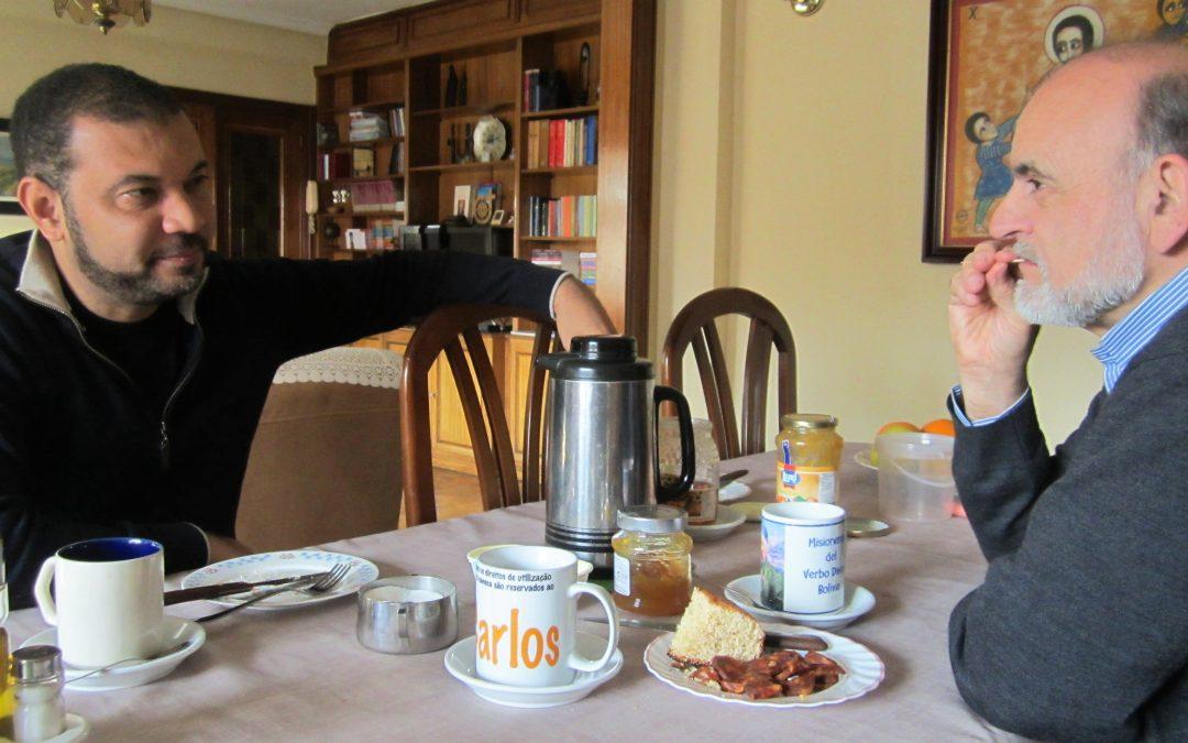Gracias a Anselmo, desayunando con Brasil y… Arnoldo