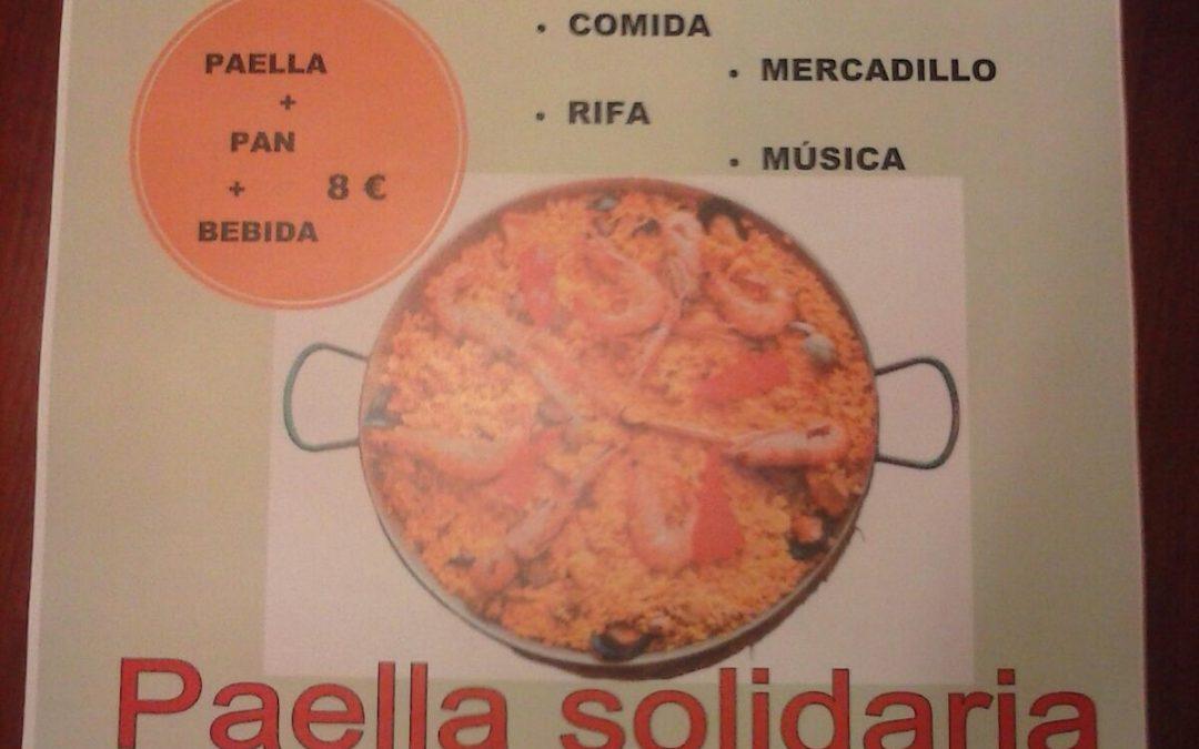 Hoy 28: Paella Solidaria con buen sabor de boca