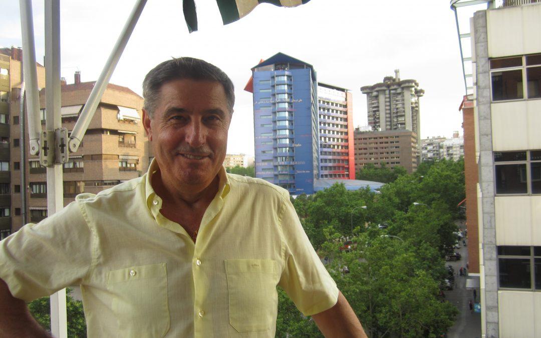 Elías Pérez de EVD, en nuestra casa en buena tarde