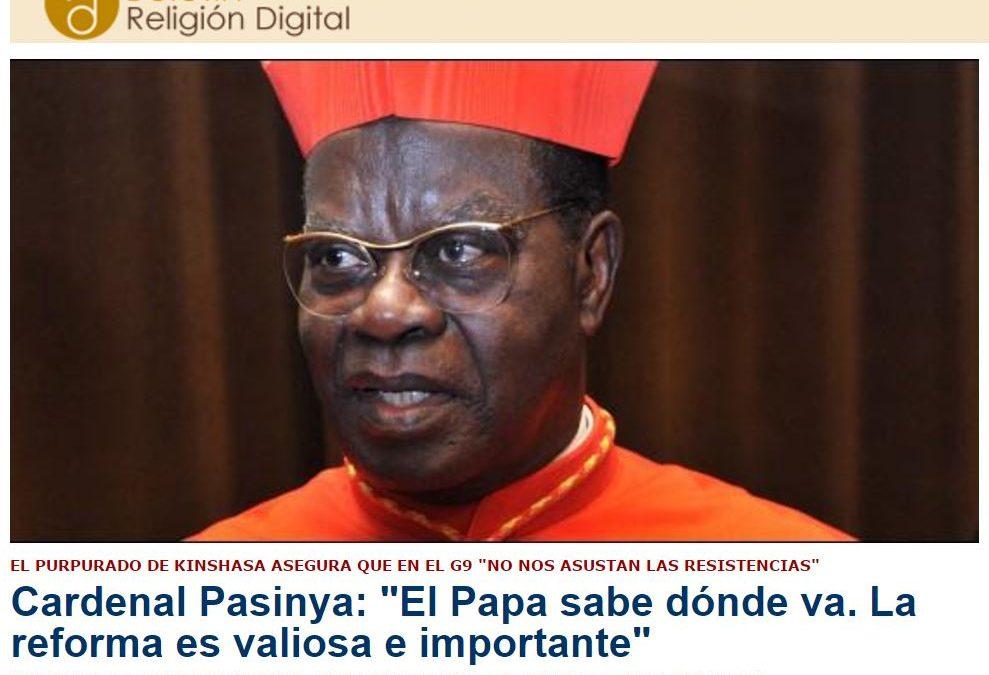 Kinshasa también es nuestra referencia, y ellos, ella… En 'El Día de la Madre'