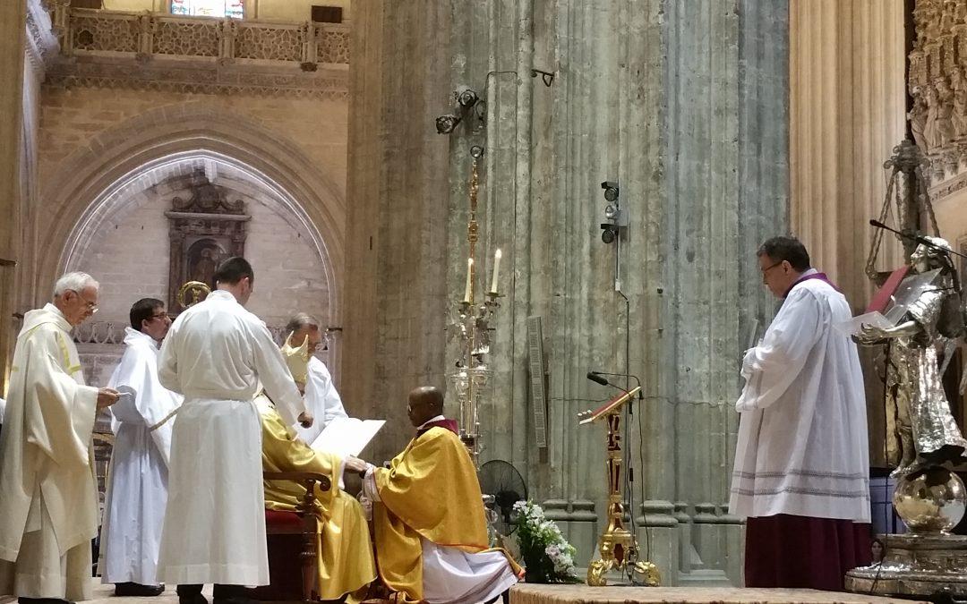 Ordenado sacerdote en la Catedral de Sevilla: historia SVD, Historia catedralicia
