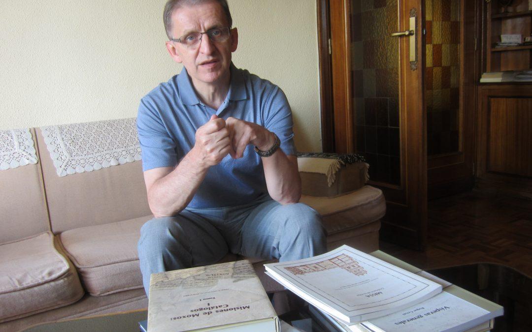 Piotr Nawrot SVD en CdM19: él, su misión apasionada