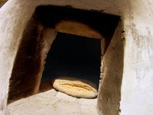 pan en horno