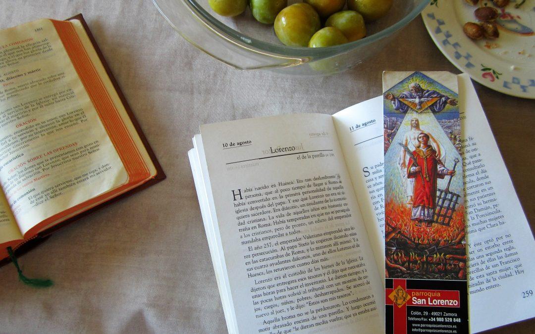 """Rojo de seguimiento, diaconía, del que dijo: """"El que quiera servirme, que me siga"""" + Después de la misa solemne, en San Lorenzo de El Escorial"""