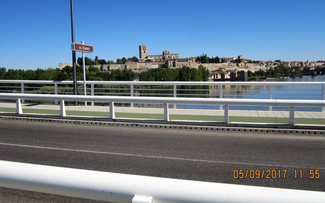 Desde Colón 20 hasta Viriato: recorrido junto al Duero en Zamora