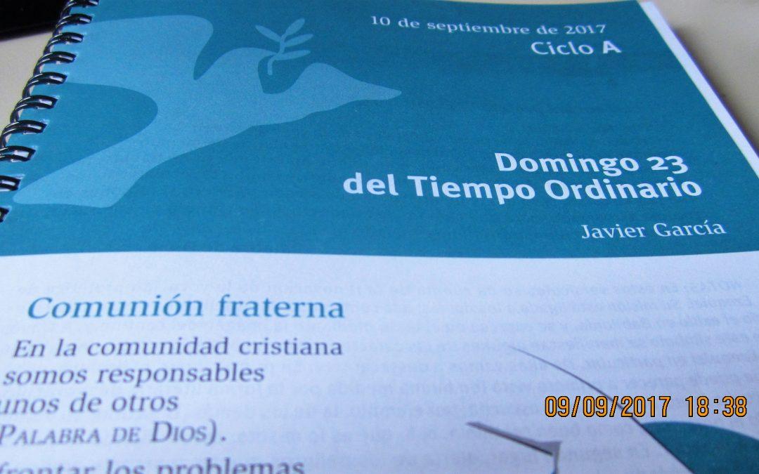 Hay misas de domingo que… (nos referimos a las lecturas bíblicas) y a Volusiano Calzada en su parroquia, la de San Juan, en Zamora