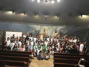 La Misa en la capilla de Santa Rita 2