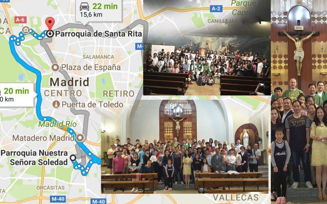 Nuestras capellanías en Madrid: la china en su Décimo Aniversario