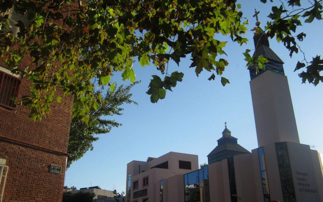 Por ser aniversario de la SVD (142 años) en día de la Natividad de María, el Distrito Centro festeja