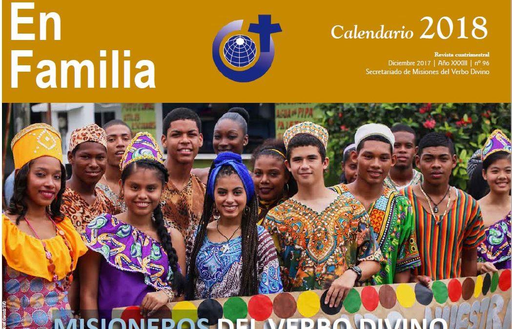 El calendario misional SVD 2018
