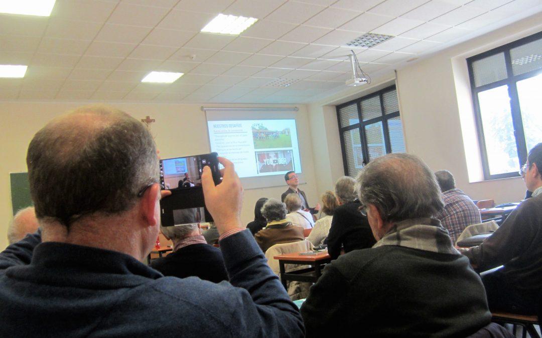 'Quiero ver'… EUCARISTÍA, hoy en en el Instituto Superior de Pastoral · Madrid – Universidad Pontificia de Salamanca