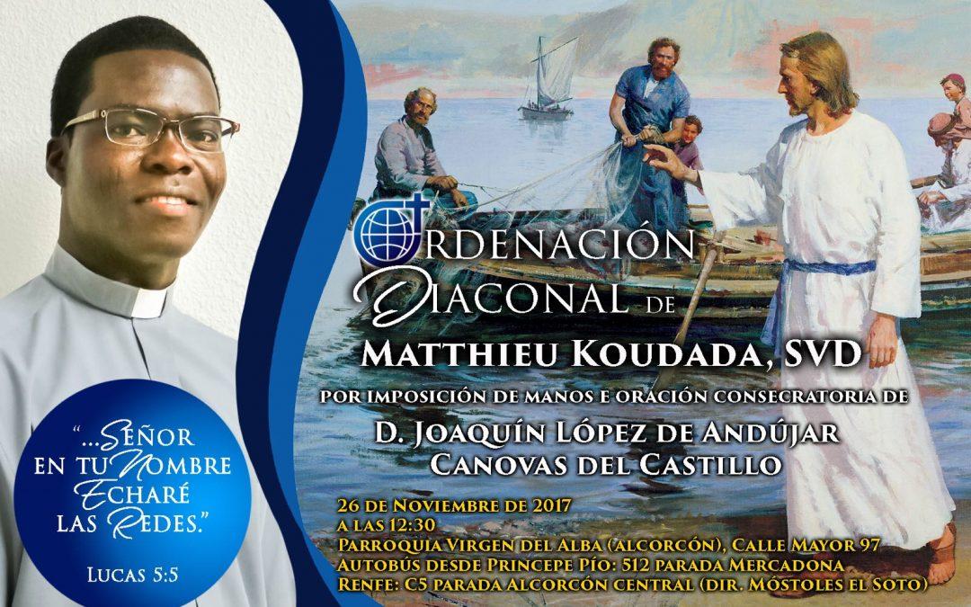 Invitados en ALBA Alcorcón por Matthieu, el domingo