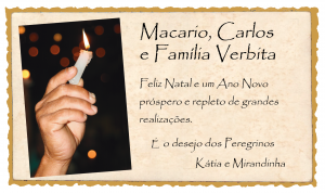 Cartaoa de natal Madri