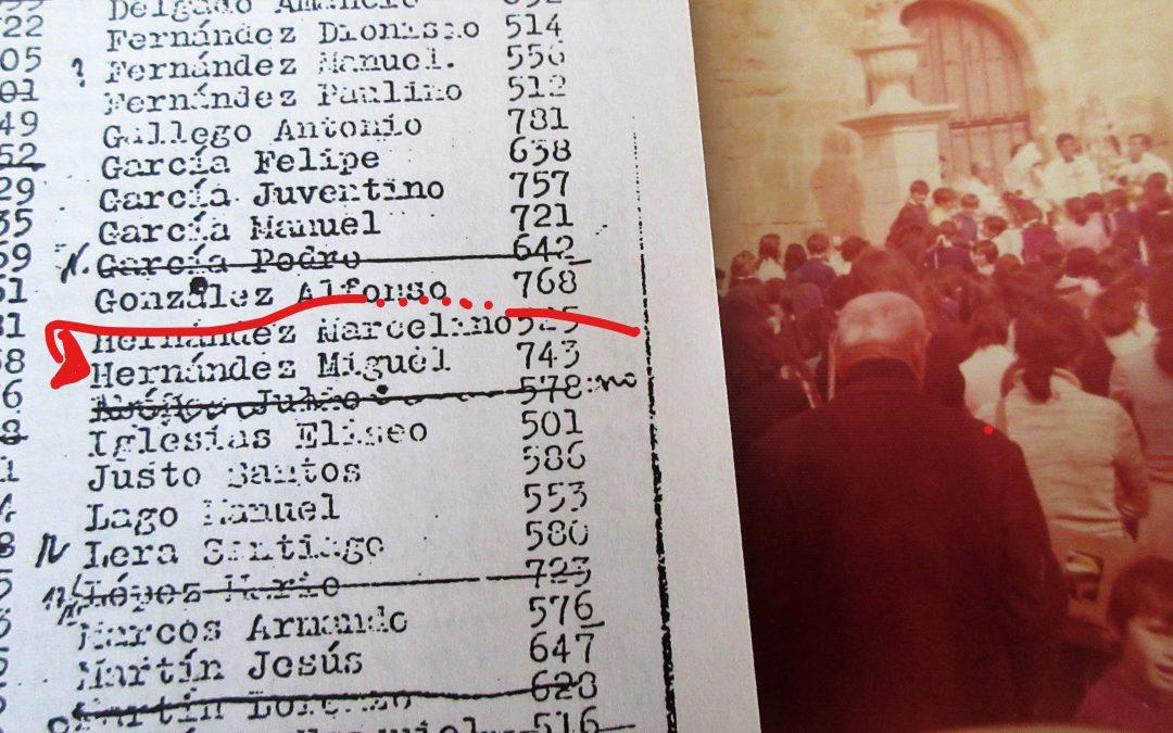De Arcenillas a Coreses, Miguel Hernández: 1958