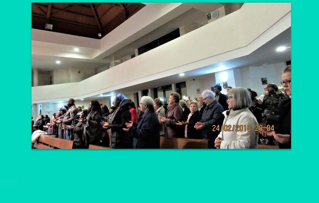 Encuentros afortunados bajo el mismo techo, nuestra parroquia de Altagracia, Madrid
