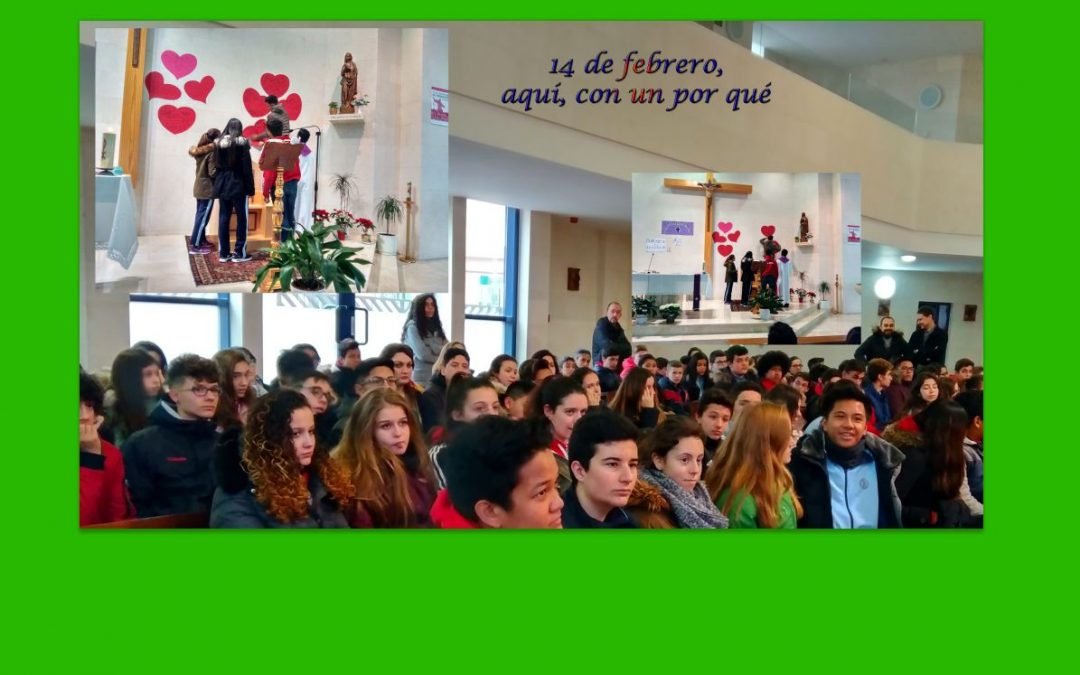 Jóvenes este miércoles 14 en nuestra parroquia de Valdezarza, barrio madrileño
