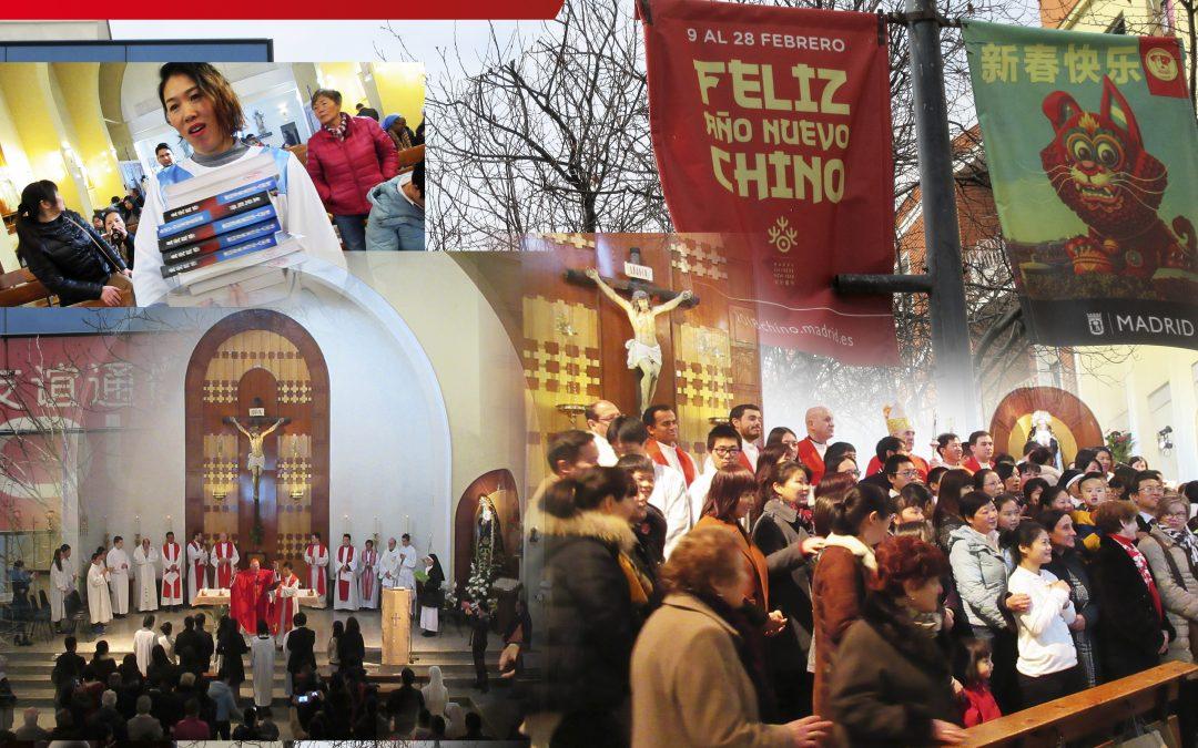 Nuestro Pablo Liu nos invitó a todos al Año Nuevo, y allí hemos estado, a las 9:30