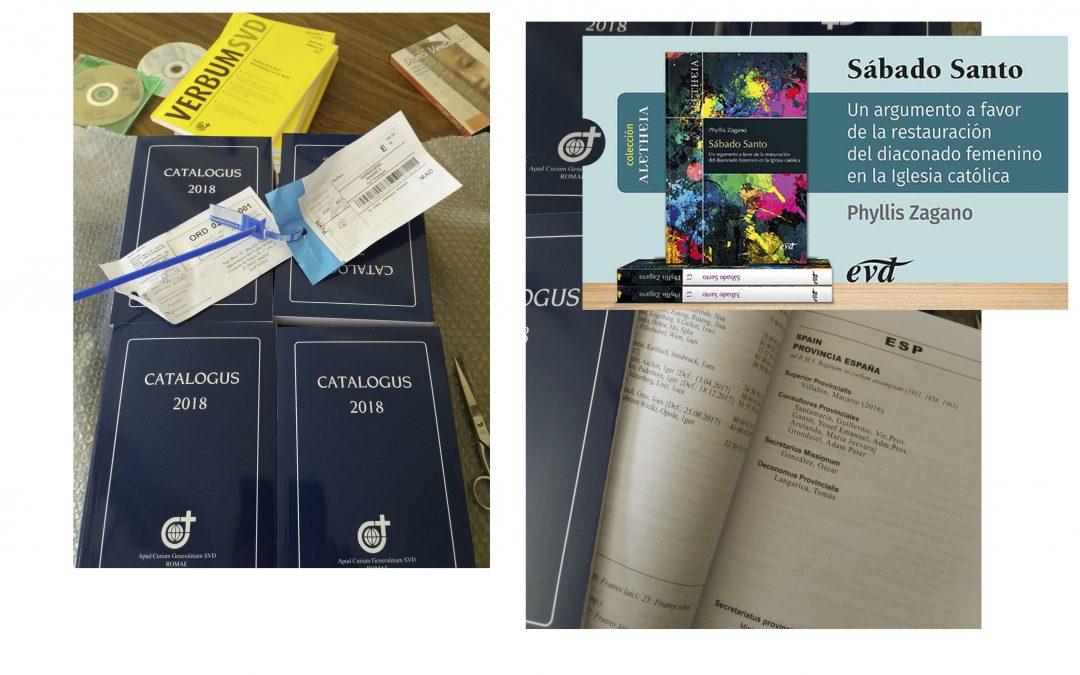 Novedades en un día luminoso, esperanzador: dos sacas de Correos, un paquete, una buena noticia de EVD…