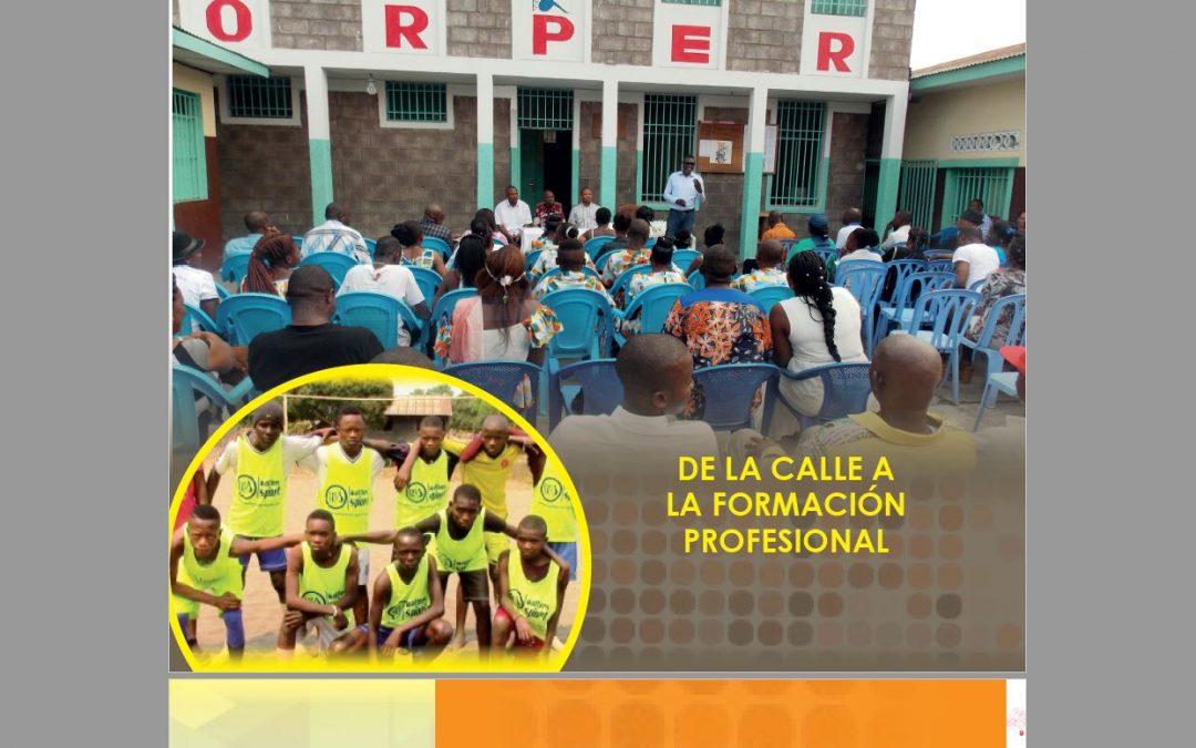 En español, abrazando el mundo: hoy Kinshasa presentada a nosotros por Óscar González SVD