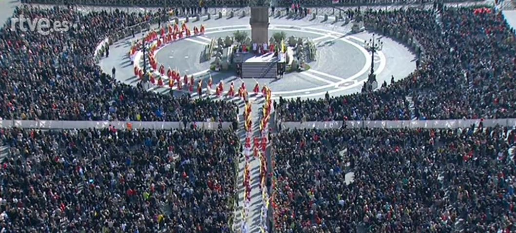Domingo de Ramos, con Roma hasta nuestros rincones de Iglesia