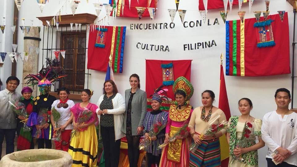 Marlon Vargas SVD en Experiencia Intercultural, integrado e integrador así en Niebla (Huelva)