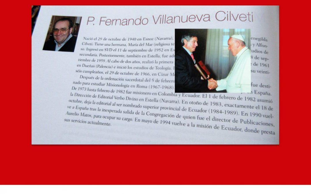 Elías Pérez visita a Fernando Villanueva que está acompañado por su hermana Marimar