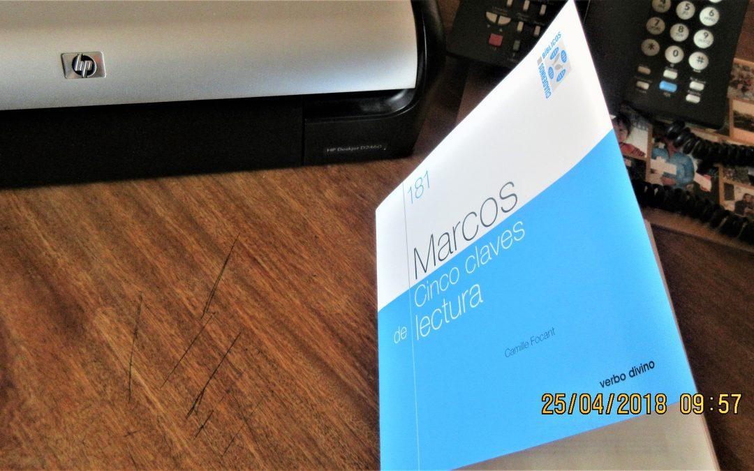 Entre los libros del día 23, Marcos, su Evangelio