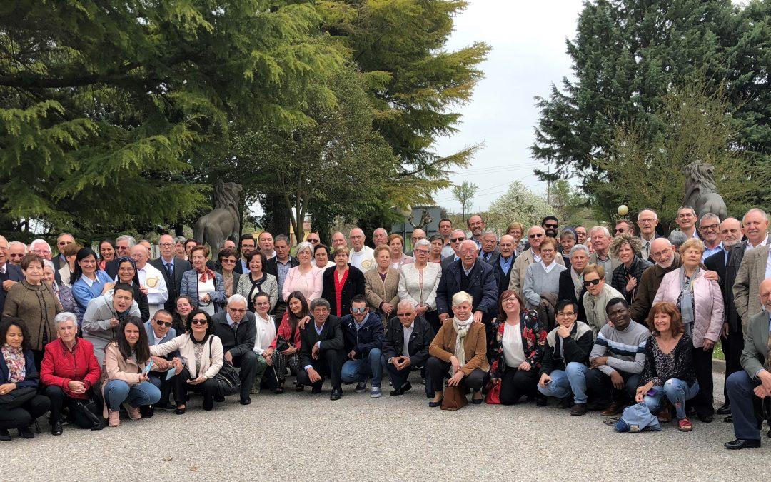 En Dueñas SVD, 50 abriles festejados por todo lo grande, con ellos